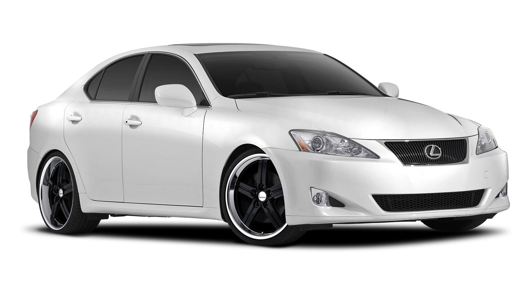 Pictures of Lexus Is250 White Rims